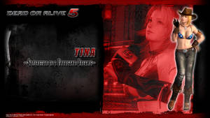 DOA5 Tina Wallpaper by werewolfgold