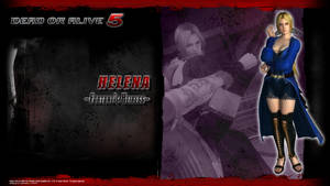 DOA5 Helena Wallpaper by werewolfgold