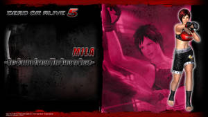 DOA5 Mila Wallpaper by werewolfgold