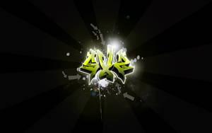 SXZ Graffiti Widescreen by Sed-rah