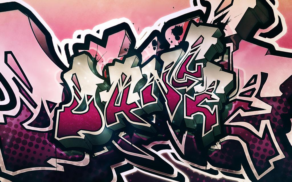 Dance Graffiti Widescreen by Sed-rah
