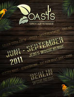 Oasis Flyer by Sed-rah