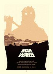 STAR WARS Poster - Tusken Raider by Sed-rah