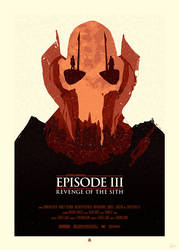 STAR WARS Poster - General Grievous by Sed-rah