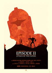 STAR WARS Poster - Clone by Sed-rah