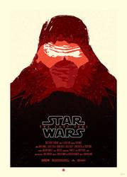 STAR WARS Poster - Kylo Ren by Sed-rah