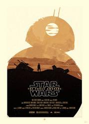 STAR WARS Poster - BB8 by Sed-rah