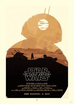 STAR WARS Poster - BB8