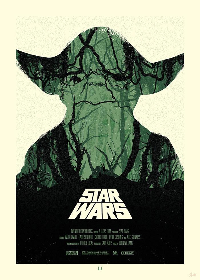 STAR WARS Poster - Yoda
