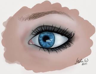 Eye by M-Willander