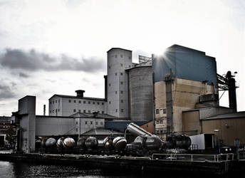 Industrial romance I by M-Willander