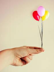 Mini balloons by M-Willander
