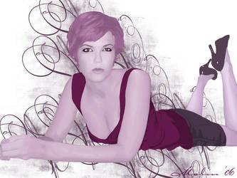 Purple by M-Willander