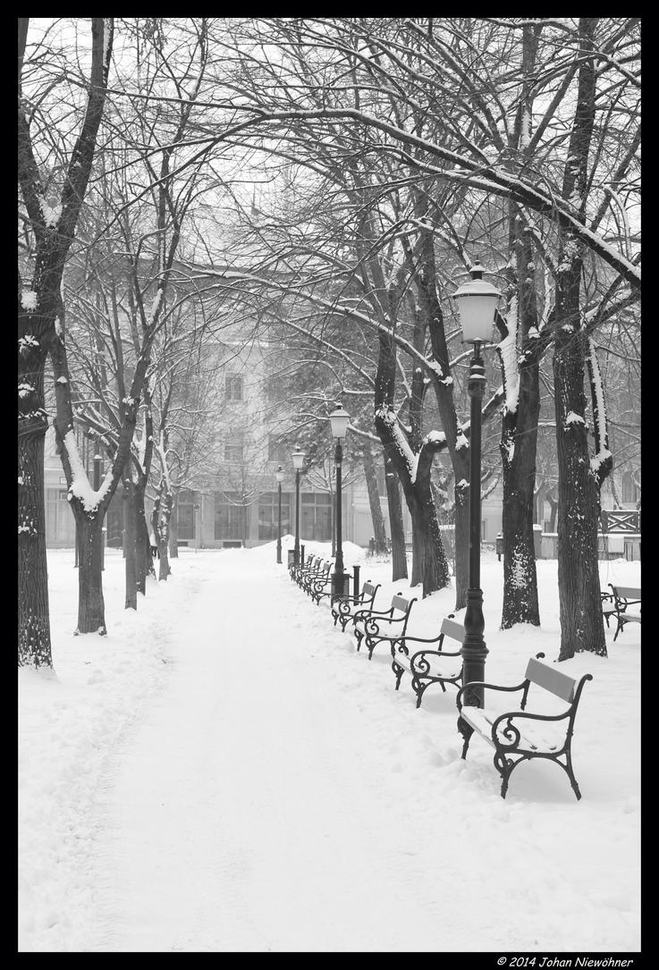 Szentes in the snow 2 by jochniew
