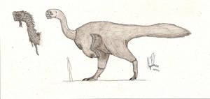 Gigantoraptor by dinosaurusbrazil