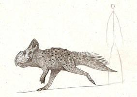 Protoceratops by dinosaurusbrazil