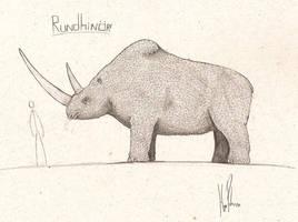 Rundhinor by dinosaurusbrazil