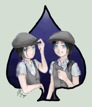Spade twins