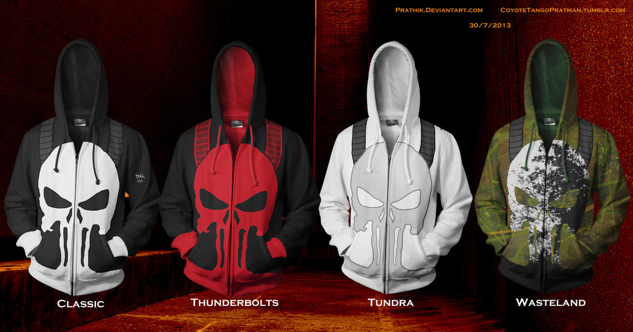 Punisher Hoodies! by prathik