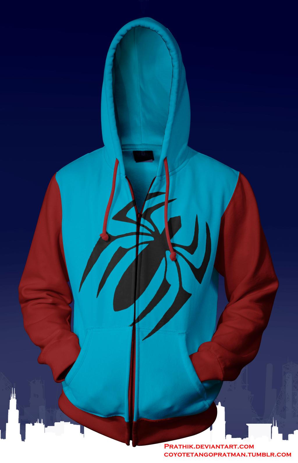 Scarlet Spider (Ben Reilly) Hoodie by prathik