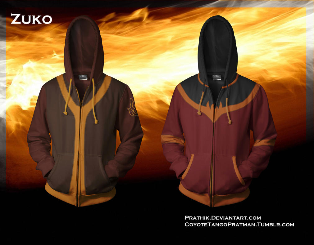 Zuko Hoodies! [Avatar The Last Airbender] by prathik