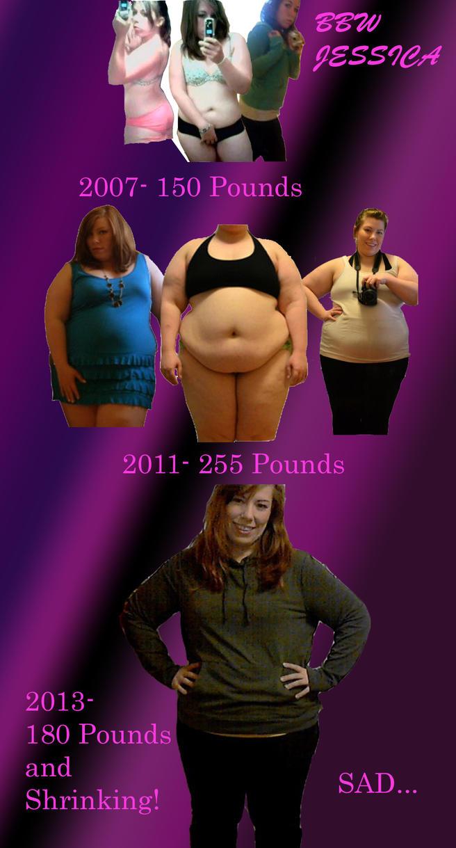 BBW Jessica's Progression by whateva09