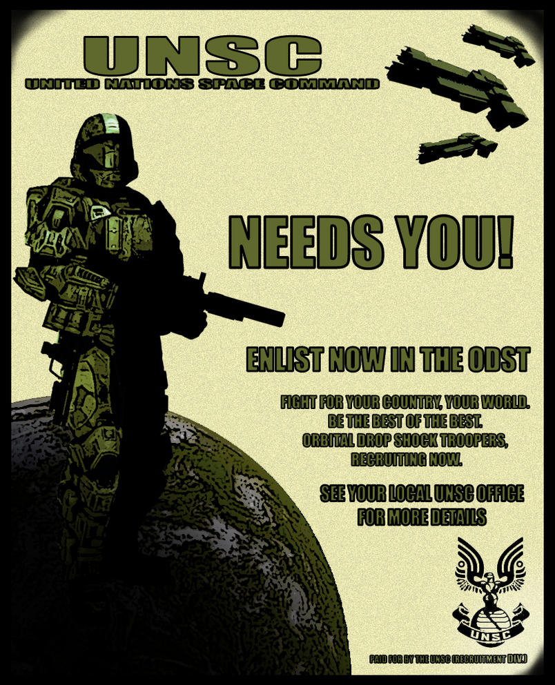 Recruitment Posters Unsc Propaganda