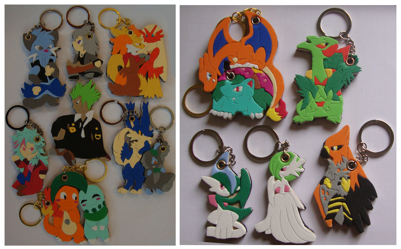 SoftKeychains Xmas Delivery! by SoftMonKeychains