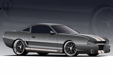 94 Stang O'Dell Studios style by cityofthesouth