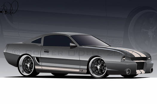 94 Stang O'Dell Studios style