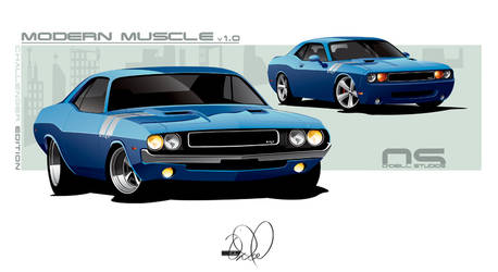 Modern Muscle Challenger Ed.