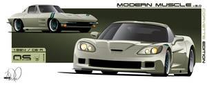 Modern Muscle Corvette Edition