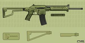 KelTec SU16 Concept Color