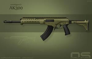 Ranisdeguery's AK300 by cityofthesouth