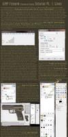 GIMP Firearm Tutorial: Line Art by cityofthesouth