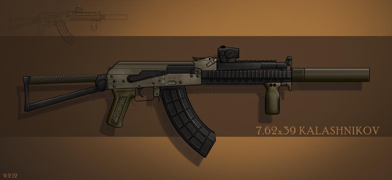 Rez's Kalashnikov by cityofthesouth