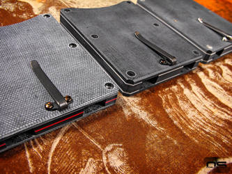 O'Dell Studios Micarta Card Wallets