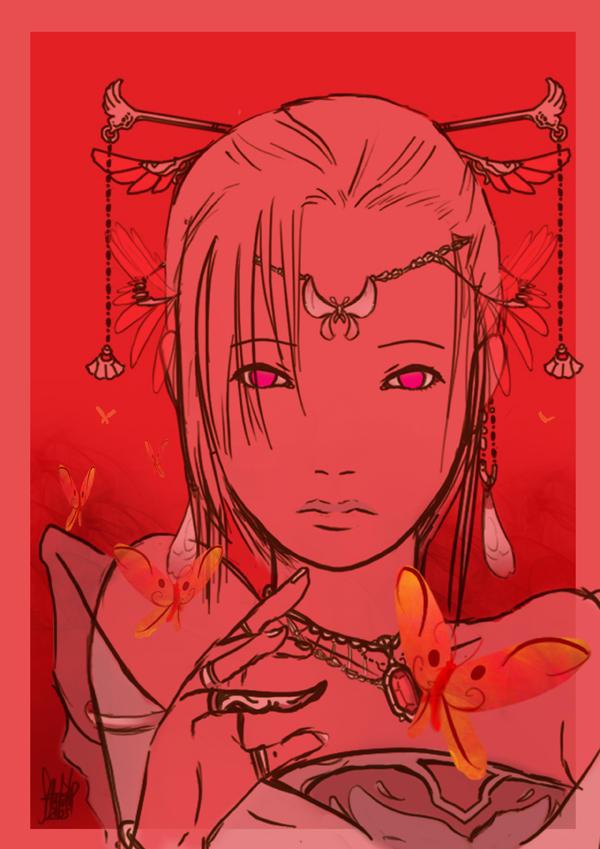 Crimson Empress+For souverain+ by 13wishes