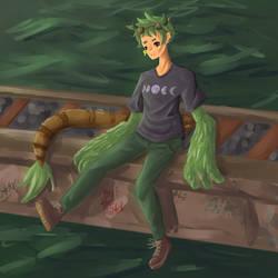 Spunk - Art Trade by Len11999