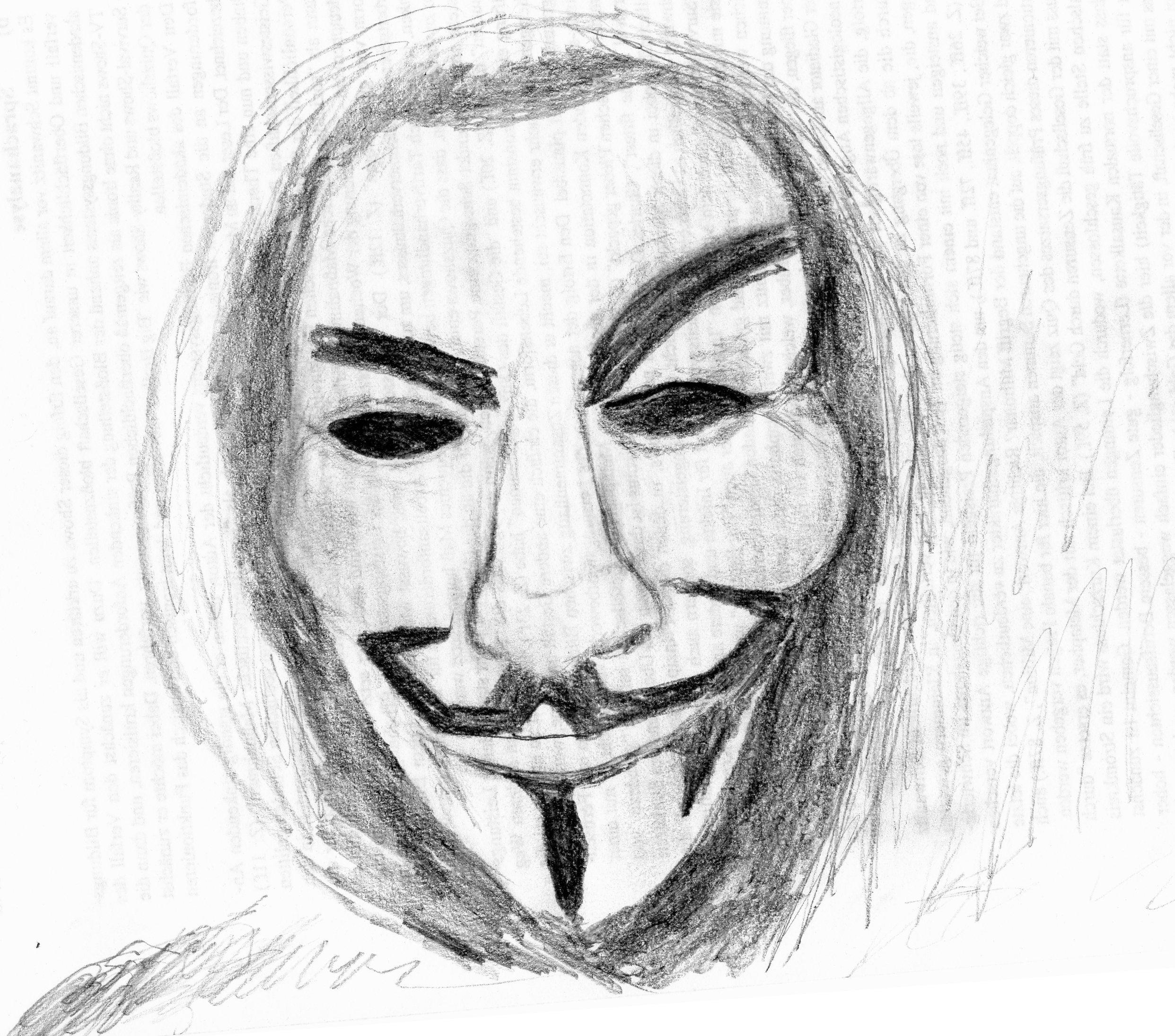 Guy Fawkes Mask By Punkandartstjimmy On Deviantart