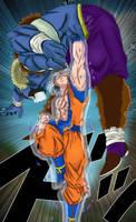 Goku Ultra Instinto Perfecto vs Moro