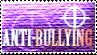 Anti Bullying Stamp by Morgan-the-Rabbit