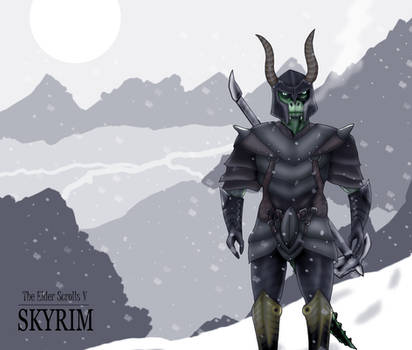 Skyrim - Argonian DragonBorn by Morgan-the-Rabbit
