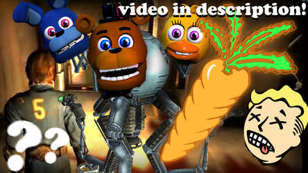 VIDEO!- FIVE NIGHTS AT FALLOUT?! FNaF inspired mod by Morgan-the-Rabbit