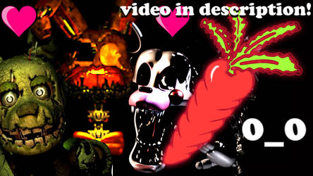 VIDEO! SPRINGTRAP AND MANGLE HAD SEX?!O_O (news) by Morgan-the-Rabbit