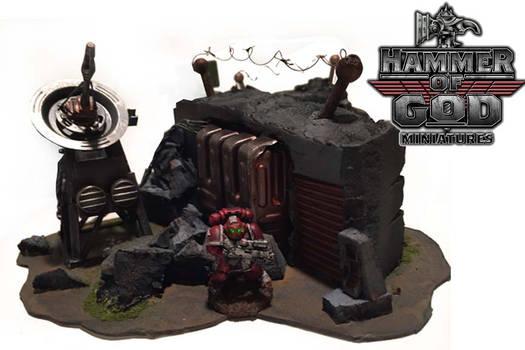 Warhammer 40k bunker by Hammer of God miniatures
