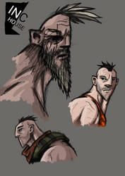 Inc house character desing by tretham