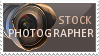 Stock photographer stamp by Grinmir-stock
