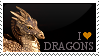 Dragons stamp by Grinmir-stock