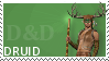DnD class stamp - Druid by Grinmir-stock